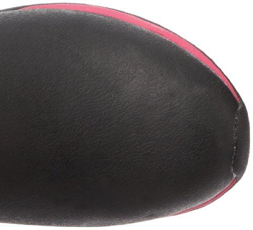 Stivali Di Stoffa Avventura Artica, Damen Stiefel Nero (nero / Rosa Caldo)