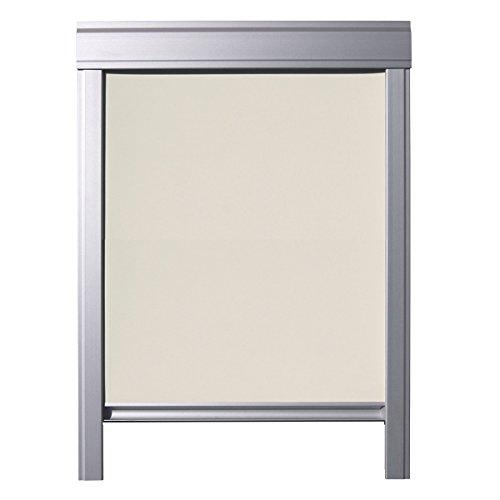 ITZALA Verdunkelungs-Rollo für VELUX Dachfenster M06 / 306, Beige - Easy Fit