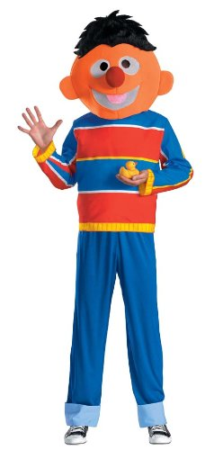 Sesame Street Ernie Costume for Adults
