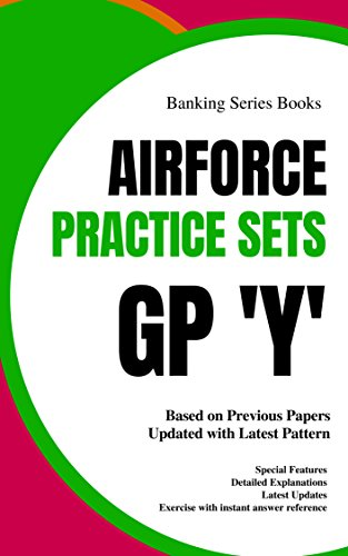Indian Airforce GP. Y Mock Tests : Mocktime Publication (English Edition)