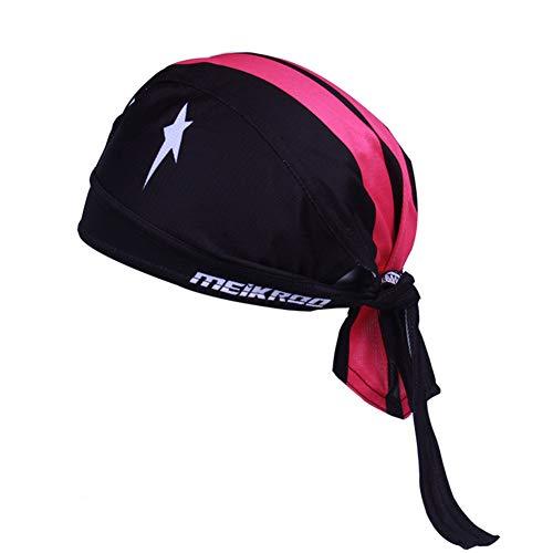 MMCP Sport Headwear, Riding Pirate Headscarf Outdoor Escursionismo Arrampicata Quickly Dry Protezione UV Casco Traspirante antisudore Fodera per Cappuccio