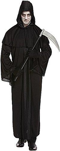Sensenmann-Kostüm für Herren - Halloween-Kostüm - mit (Halloween Kostüme Schwarze Mann)