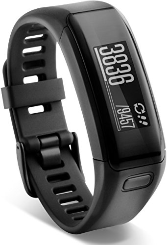 Купить Garmin vívosmart HR Fitness-Tracker - integrierte Herzfrequenzmessung am Handgelenk, Smart Notifications, Blau, Gr.Regular на Амазон с доставкой в страны СНГ