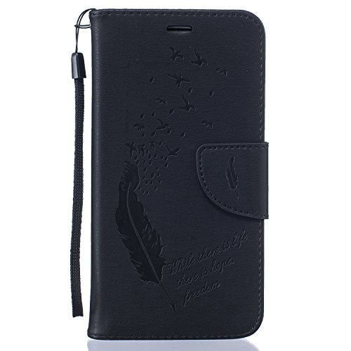 Custodia Samsung J5 2016, Sunroyal® Custodia in Pelle con 9 Portafoglio Porta Carte di Credito Titolare, Disegno di modelli Ragazze Cuoio Premium Case Cover Copertura di Vibrazione Portafoglio Flip Co B-04