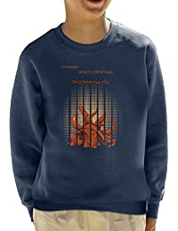 Im Not Chibi Tatsumaki One Punch Man Kid's Sweatshirt