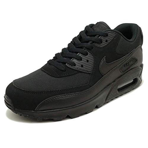 newest collection 195a6 25f9d Nike Air Max 90 Essential, Men s Trainers, Black, 9 UK (44 EU