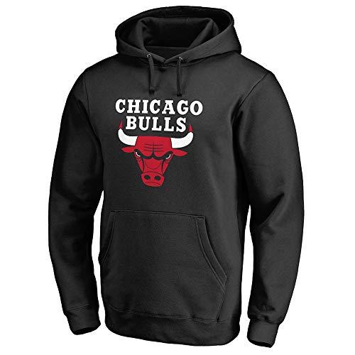 GRYUEN NBA Chicago Bulls Herren-Basketball-Trikot Herren-Fans Unisex - Basketball Training Hoodie