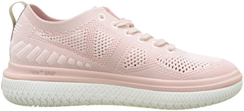 Peach Sneaker M37 Whip rose Palladium Donna Wh Rosa Wtr Ros Low str Crushion Knit 6OxYZq