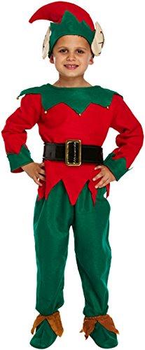 Kostüm Engel Land - Kinder Santa Boy Weihnachten 5PCS Anzug Kostüm Engel Kostüm Halo Silber Flügel Gewand Weihnachts Kleid bis Fancy Kleid