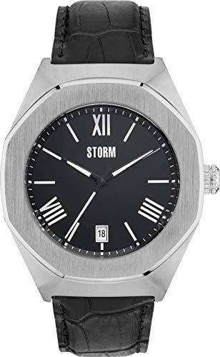 Storm London COBAIN 47305/BK Reloj de Pulsera para hombres Carcasa Maciza