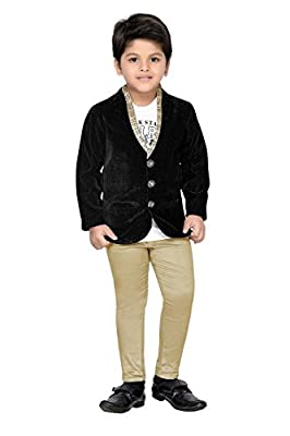 AJ Dezines kids party wear coat suit set for boys
