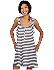 Quiksilver Damen Mini Kleid Salty Stripe