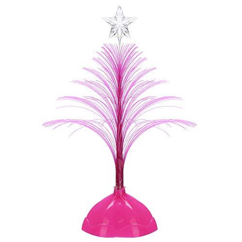 Mitlfuny Weihnachten Home TüR Dekoration 2019,Frohe Weihnachten LED Farbwechsel Mini Xmas Tree Home Table Party Dekor Charme