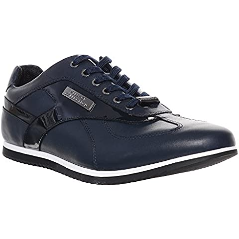 Versace Jeans - Zapatillas de Piel para hombre