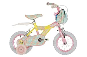 Raleigh Micro Miss Vélo pour fille Rose/jaune 12 pouces