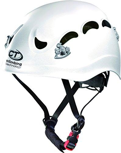 Climbing technology venus casco per parchi avventura e vie ferrate, bianco
