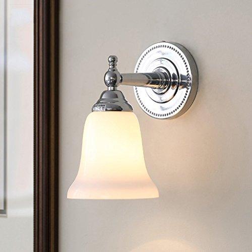 GYR Wandleuchte Wandleuchte Silber Kreative Einfache Moderne Badezimmer Toiletten Bad Wc Spiegel Scheinwerfer (Kreative Bad)
