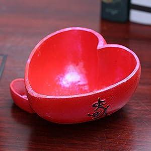 Rishx Maceta en Forma de corazón Accesorios de decoración del hogar Decoración de Hadas del jardín y macetas Decoradas