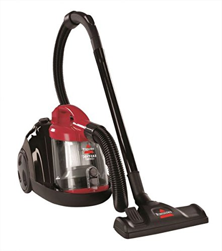 Bissell 1273K 1500W Easy Cylinder Bagless Vacuum Cleaner (Red/Black) 412xe5NRkJL