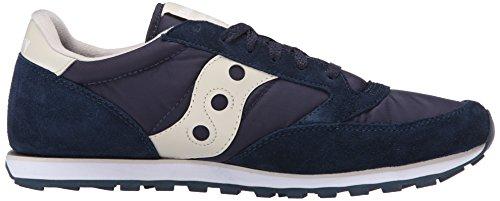 SAUCONY scarpe sneakers uomo in camoscio e tela - JAZZ LOW PRO (2866-7) Navy