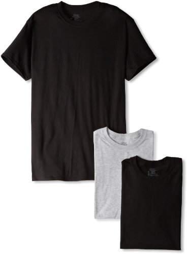 Hanes Ultimate Men's 3-Pack FreshIQ Crew Neck Tee