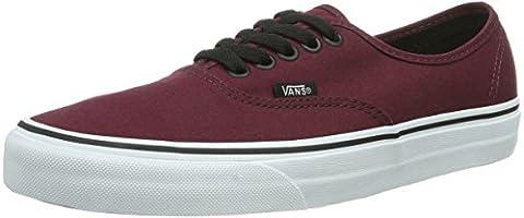 Vans U Authentic, Unisex Adults' Low-Top Sneakers, Red (port Royale/black),