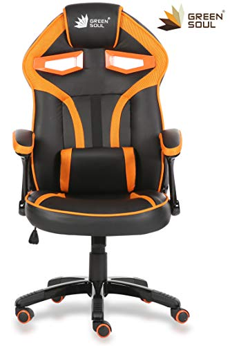 GreenSoul Alien Series Gaming/Desk Chair in PU Leather & Mesh...