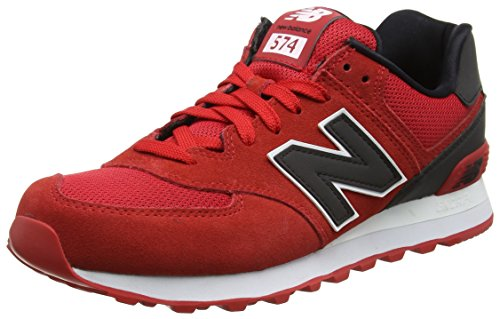 New Balance Ml574cna, Sneakers basses homme Rouge (Red)