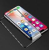 5D Glas für iPhone XS Max Displayschutz Full Cover 9H Panzerglas für iPhone XS Max XR X 7 8 6 6s Plus Schutzglas, iPhone XR (6.1), schwarz