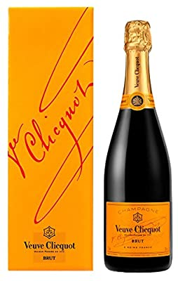 Veuve Clicquot Champagne Yellow Label Non Vintage Giftbox, 75 cl