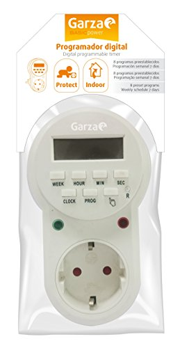 Garza Power – Temporizador-programador digital