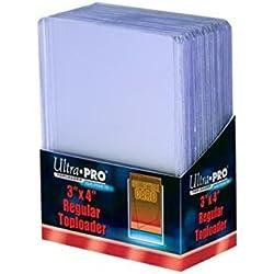 Ultra Pro Regular Toploader 25 fundas de 63,5 x 88,9