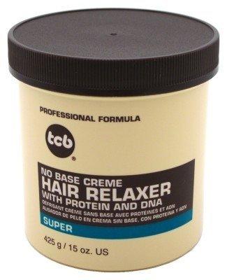 Professional Creme Relaxer (TCB® - Creme Relaxer SUPER Glättungscreme / Haarglättung 425g)