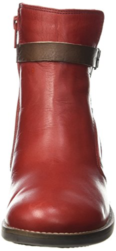 Tbs - Gently, Stivale da donna Rosso (Rouge (Grenat))