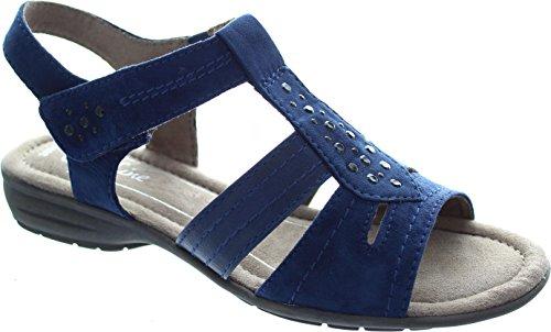 Softline 8-8-28163-26-805, Sandali donna Blu (805NAVY)