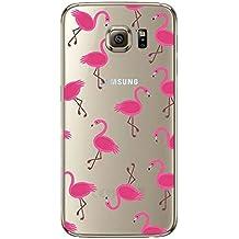 Funda Galaxy S6/S6 Edge/S6 Edge Plus/S7/S7 Edge Jeper® Carcasa Silicona Transparent Protector TPU Ultra-delgado Anti-Arañazos Delfines Case Teléfono Galaxy Funda