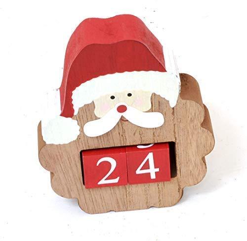 harakter Weihnachten Countdown Würfel - Count Your Sleeps zu Weihnachten - Weihnachtsmann ()