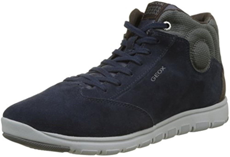 Geox Unisex-Erwachsene J Xunday Boy D Hohe Sneaker