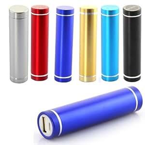 Blau 2600mAh USB Power Bank Bewegliche Externe Batterie Fuer iPhone iPod PSP 3DS