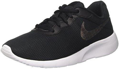 Nike Tanjun GS, Zapatillas de Running para Niños, Negro (Black/Metallic Pewter/White 014), 35.5 EU