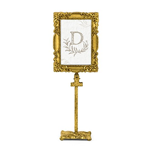 Vintage Stil Gold Barock rechteckigen Rahmen 31,8cm H