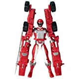 Power Rangers Operation Overdrive - 12.5cm Operation Overdrive Battlized Figure - Red
