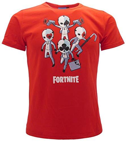EPIC GAMES T-Shirt FORTNITE Originale Ufficiale Maglia Ragazzo Bambino TSFORSCRBI