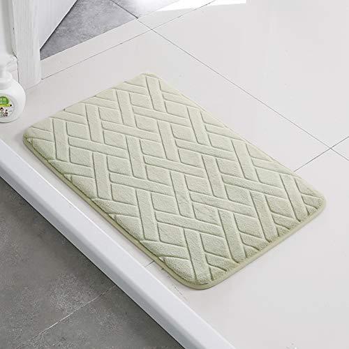 JR%L Bad Saugkissen Badteppiche Home Teppich,mikrofasern Badezimmer Teppich Dicke Memory-Schaum Badewannenmatten Weiches Badematte-e 40x120cm(16x47inch) -
