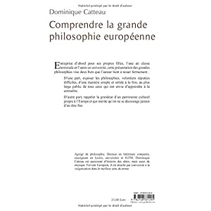 Comprendre la grande philosophie européenne