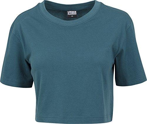 Urban Classics Ladies Short Oversized Tee, T-Shirt Donna foglia di tè