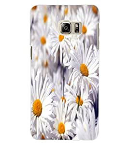 ColourCraft Beautiful Flowers Design Back Case Cover for SAMSUNG GALAXY NOTE 5 EDGE
