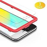 BANNIO Verre Trempé pour iPhone 6 /iPhone 6S, [3 Pièces] Film Protection écran en iPhone 6 / iPhone 6S, HD Transparent, Dureté 9H, Anti Rayures, 3D Touch, avec Kit d'Installation - Assurance Qualité