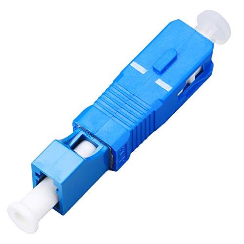 FTTH Optisches Equipment Werkzeug LC weiblich auf SC Stecker Hybrid Flansch Singlemodefasern 9/125SM Optische Faser Adapter Anschluss für digitale Kommunikation