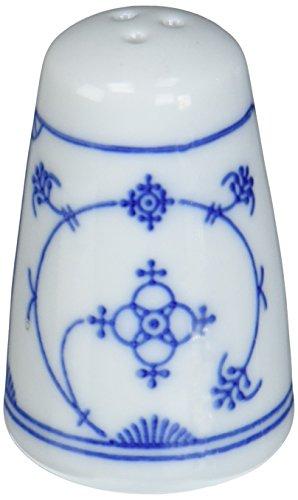 Kahla - Porcelaine pour les Sens 437502A75019X Saks Tradition Poivrière Bleu/Blanc 4,5 x 7 cm